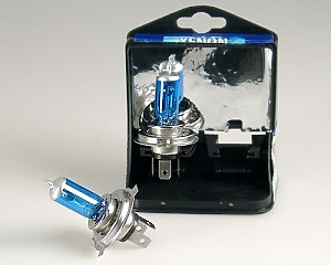 Glödlampa H4 55W Xenon Blue - 2-Pack