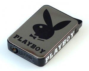 Playboy-tändare Krom & Svart