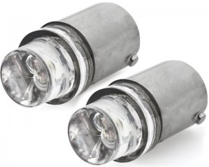 LED Glödlampa BA9s 1-LED Vit