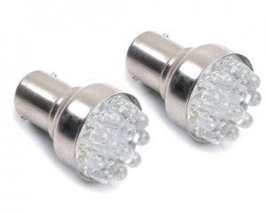LED Glödlampa BA15s 12-LED Vit