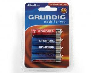 Batterier AA - Grundig 4-pack