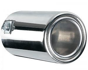 Slutrör Silver Ring