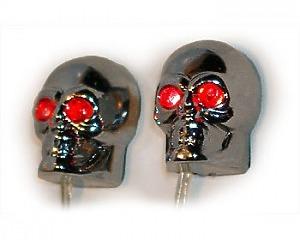 Scary Skulls Red 24v