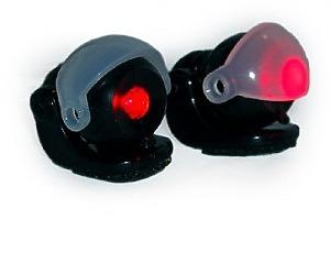 Helmet Spotlight Red 24v