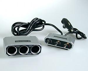 3-way Socket Switch - DIN plug