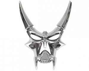 Emblem Horned Skull