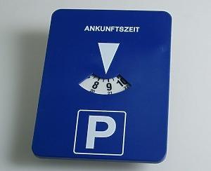 Automatisk P-Skiva - Tysk