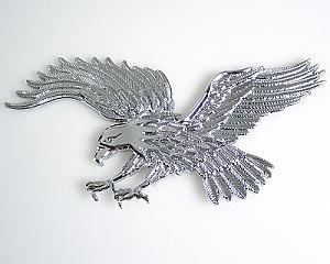 Emblem Eagle Chrome - Medium