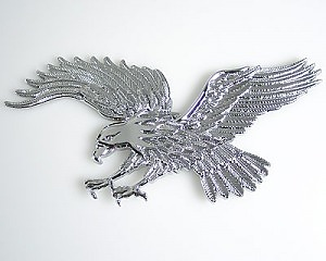 Emblem Eagle Chrome - Liten