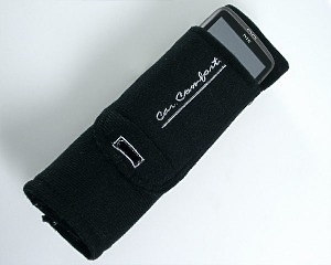 Seat Belt Cover + Phone Holder