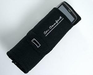 Seat Belt Cover + Phone Holder