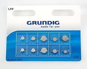 Batterier 1,5V - Grundig 10-pack