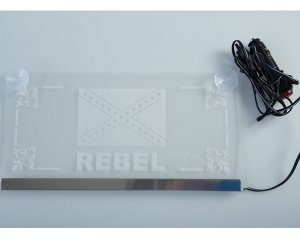 Plexi LED Plate Rebel 24v