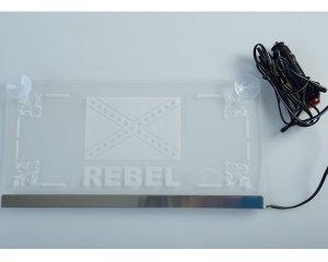 Plexi LED Plate Rebel 24v