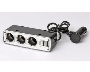 Tripple Socket Switch & Dual USB