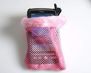 Pink Mobile Bag