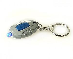 Nyckelring Blue Light Oval