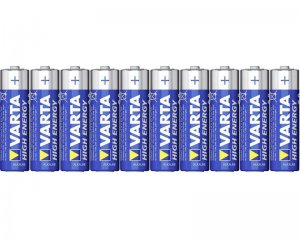 Batterier AA - Varta High Energy 10-pack