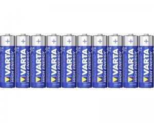 Batterier AA - Varta High Energy 10-pack