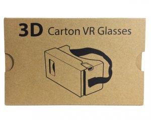VR-glasögon i Papp