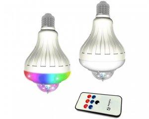 Roterande Ljus E27 Glödlampa