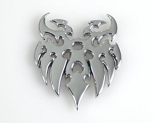 Emblem Chrome Style - Eagle