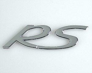 Emblem Chrome Style - RS
