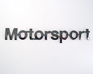 Emblem Chrome Style - Motorsport