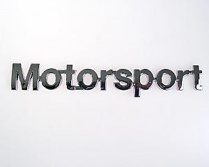 Emblem Chrome Style - Motorsport