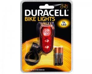 Bike Light Back Oval - Duracell
