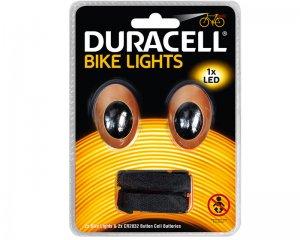 Bike Light Front & Back - Duracell