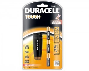 Duracell TOUGH Ficklampa