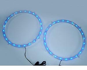 Speaker Rings 2x Blue
