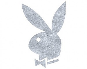 Playboy - CarTattoo Silver Ink
