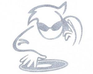 DJ - CarTattoo Silver Ink