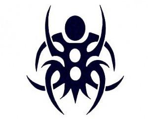 Tribal Spider - CarTattoo Magic Ink