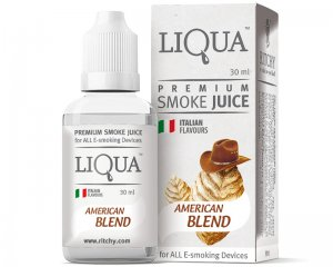 E-juice Tobak, American Blend - LiQua 30ml