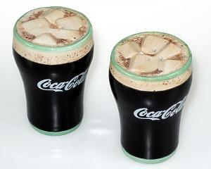 Salt & Pepparkar Coca-Cola-glas