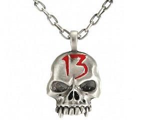 Halsband Skull 13
