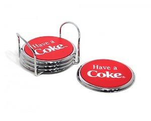 Glasunderlägg Coca-Cola