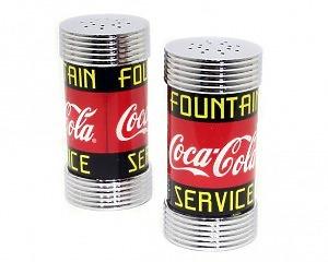 Salt & Pepparkar Coca-Cola - Metall
