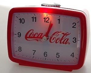 Coca Cola Väckarklocka 4-kantig
