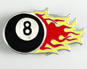 Bältesspänne 8-Ball