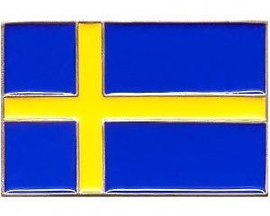 Bältesspänne Svenska Flaggan