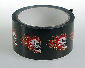 Tape Skull & Flames