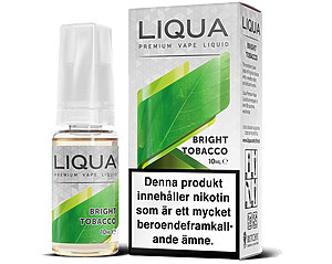 E-juice Tobak, Bright NIKOTIN  - LiQua 10ml