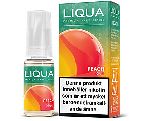 E-juice Peach NIKOTIN - LiQua 10ml
