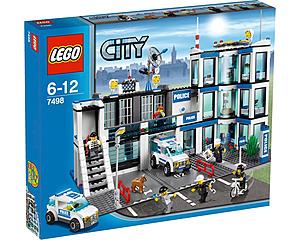 LEGO City, Police Station 7498 - Polisstation