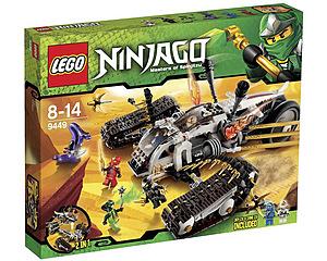 LEGO Ninjago Ultraljudsfarkost 9449