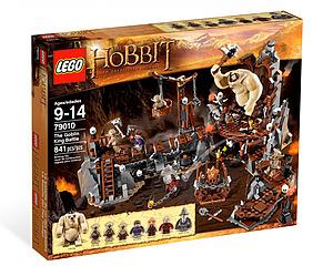 LEGO The Hobbit, The Goblin King Battle 79010 - Striden Mot Vätt